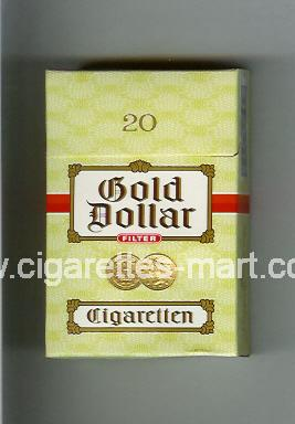 Gold Dollar (german version) (design 2A) (Filter) ( hard box cigarettes )