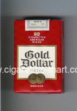 Gold Dollar (german version) (design 4) (American Blend) ( soft box cigarettes )