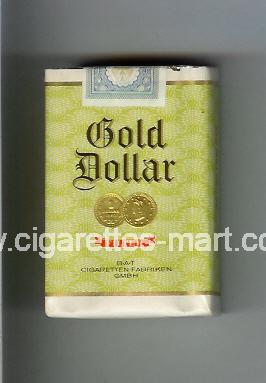 Gold Dollar (german version) (design 5) (Filter) ( soft box cigarettes )