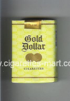 Gold Dollar (german version) (design 5) ( soft box cigarettes )