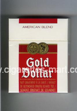 Gold Dollar (german version) (design 6) (American Blend) ( hard box cigarettes )