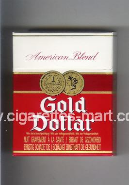 Gold Dollar (german version) (design 6A) (American Blend) ( hard box cigarettes )
