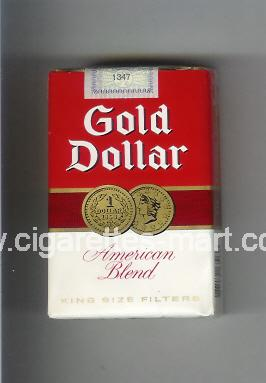 Gold Dollar (german version) (design 6B) (American Blend) ( hard box cigarettes )