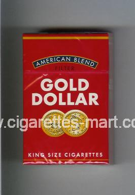 Gold Dollar (german version) (design 7) (American Blend) ( hard box cigarettes )