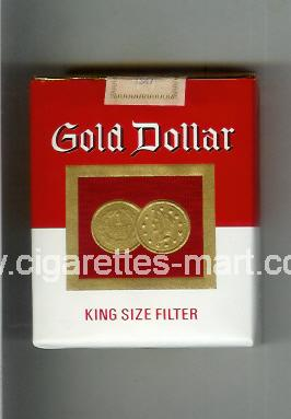Gold Dollar (german version) (design 8) ( soft box cigarettes )