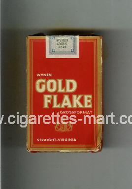 Gold Flake (german version) (design 1) ( hard box cigarettes )