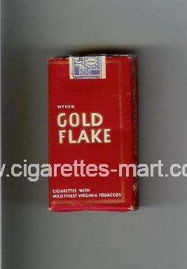 Gold Flake (german version) (design 1A) ( soft box cigarettes )