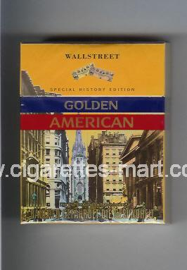 Golden American (german version) (collection design 1J) (Wallstreet) ( hard box cigarettes )
