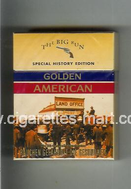 Golden American (german version) (collection design 1L) (The Big Run) ( hard box cigarettes )