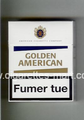 Golden American (german version) (design 3) ( hard box cigarettes )