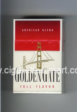 Golden Gate (german version) (design 1) (American Blend / Full Flavor) ( hard box cigarettes )