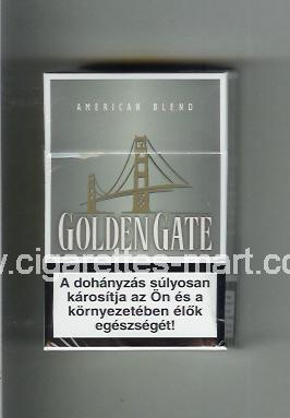 Golden Gate (german version) (design 1) (American Blend) (grey) ( hard box cigarettes )