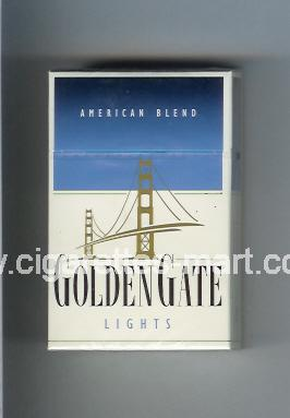Golden Gate (german version) (design 1) (American Blend / Lights) ( hard box cigarettes )