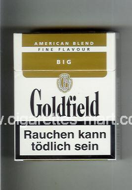 Goldfield (design 1) (American Blend / Fine Flavour) ( hard box cigarettes )