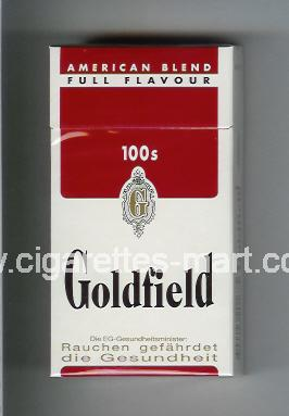 Goldfield (design 1) (American Blend / Full Flavour) ( hard box cigarettes )