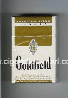 Goldfield (design 1) (American Blend) (Lights) ( hard box cigarettes )