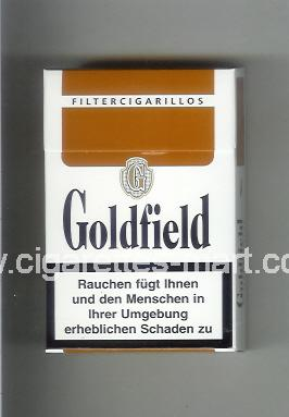 Goldfield (design 1) (Filter Cigarillos) ( hard box cigarettes )