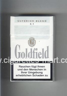 Goldfield (design 1) (Superior Blend / 0,1) ( hard box cigarettes )