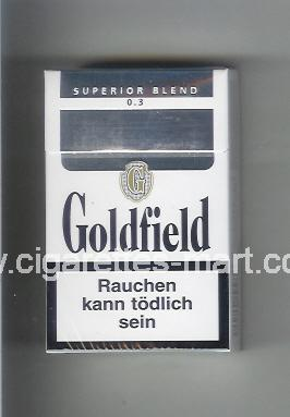 Goldfield (design 1) (Superior Blend / 0,3) ( hard box cigarettes )