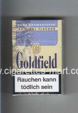 Goldfield (design 1A) (Ohne Aromastoffe / Original Flavour) ( hard box cigarettes )