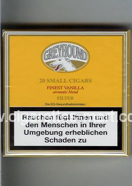 Greyhound (Small Cigars) (Finest Virginia / Aromatic Blend / Filter) ( box cigarettes )