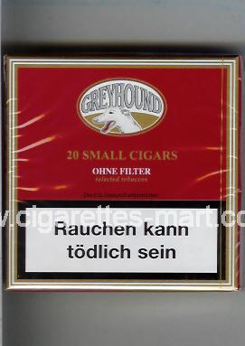 Greyhound (Small Cigars) (Ohne Filter / Selected Tobaccos) ( box cigarettes )