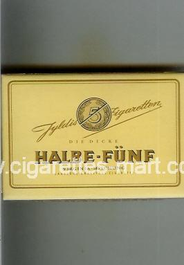 Halbe-Funf (design 1) ( box cigarettes )