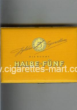 Halbe-Funf (design 2) ( box cigarettes )