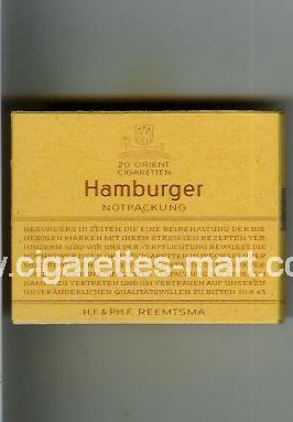 Hamburger ( box cigarettes )