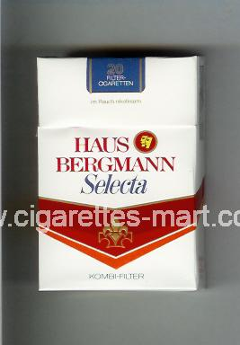 Haus Bergmann (design 2) Selecta ( hard box cigarettes )