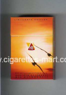 HB (german version) (collection design 1) (Limitierte Edition) ( hard box cigarettes )