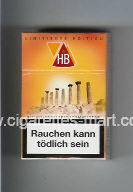 HB (german version) (collection design 2A) (Limitierte Edition) ( hard box cigarettes )