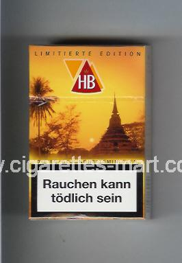 HB (german version) (collection design 2C) (Limitierte Edition) ( hard box cigarettes )