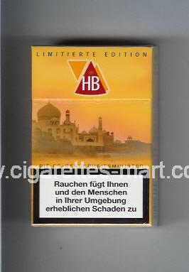 HB (german version) (collection design 2D) (Limitierte Edition) ( hard box cigarettes )