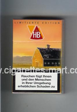 HB (german version) (collection design 2E) (Limitierte Edition) ( hard box cigarettes )