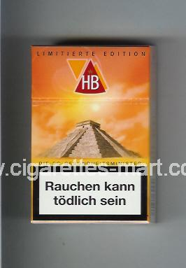 HB (german version) (collection design 2F) (Limitierte Edition) ( hard box cigarettes )