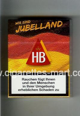 HB (german version) (collection design 3) (Wir Sind Jubelland) ( hard box cigarettes )