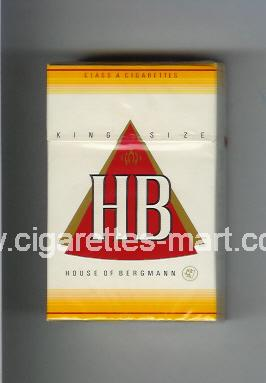 HB (german version) (design 2) ( hard box cigarettes )