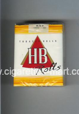HB (german version) (design 2) (Rolls / Full Flavour) ( soft box cigarettes )