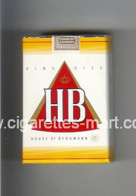 HB (german version) (design 2) ( soft box cigarettes )