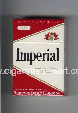 Imperial (german version) (design 2) (American Blend Full Flavor) ( hard box cigarettes )