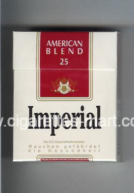 Imperial (german version) (design 3) (American Blend) ( hard box cigarettes )