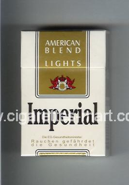 Imperial (german version) (design 3) (American Blend / Lights) ( hard box cigarettes )