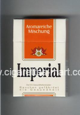 Imperial (german version) (design 3) (Aromareieche Mischung) ( hard box cigarettes )