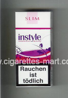 Instyle (Slim / American Blend) ( hard box cigarettes )
