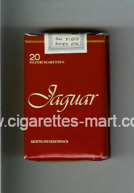 Jaguar (german version) ( soft box cigarettes )