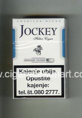 Jockey (german version) (design 1A) (American Blend / Filter Cigar / Charcoal Recess) ( hard box cigarettes )