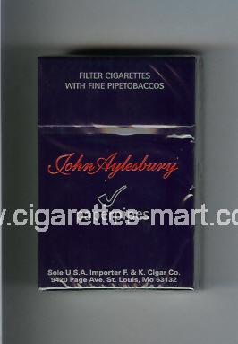 John Aylesbury (design 1) (Paperpipes) ( hard box cigarettes )