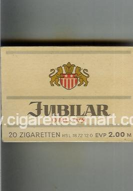 Jubilar (design 2) (Oval-O/M) ( box cigarettes )