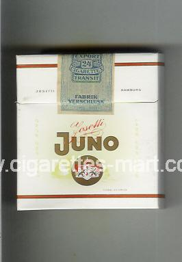Juno (german version) (design 3) (Josetti) ( hard box cigarettes )